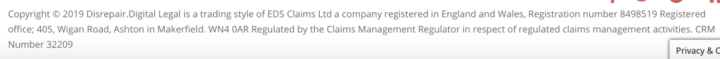 Claims management regulator