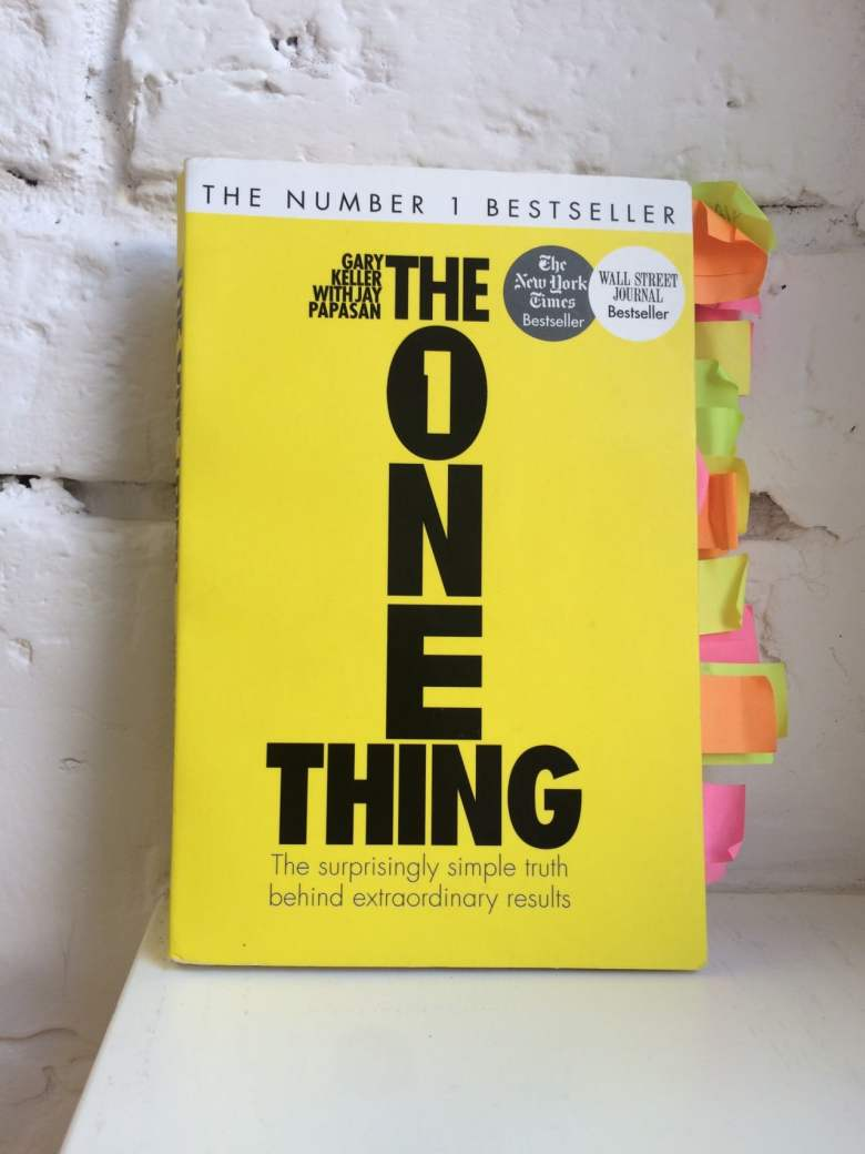 book - the one thing
