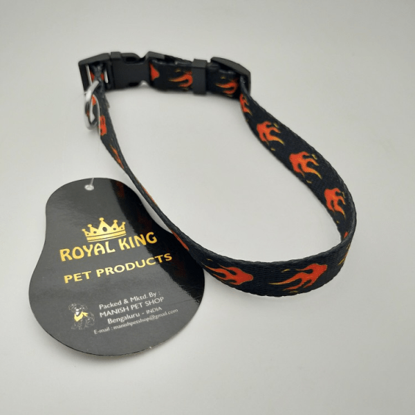 ROYAL KING Dog Collar Belts | Black