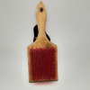 Wooden Comb for Dogs   Red