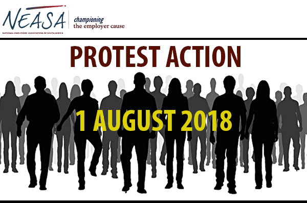 Protest Action – 1 August 2018