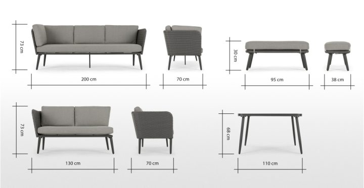 Square Dining Table Dimensions In Cm