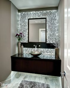 Wall Design Of Bathroom