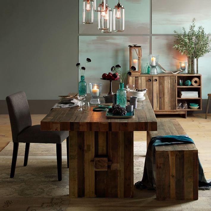 Rustic Dining Room Table And Chair Sets