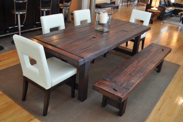 Rustic Dining Room Table Plans Free