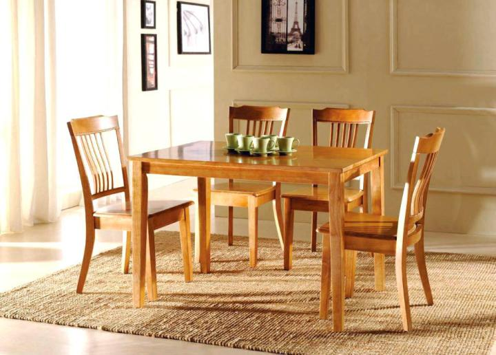 Rustic Wood Dining Room Chairs