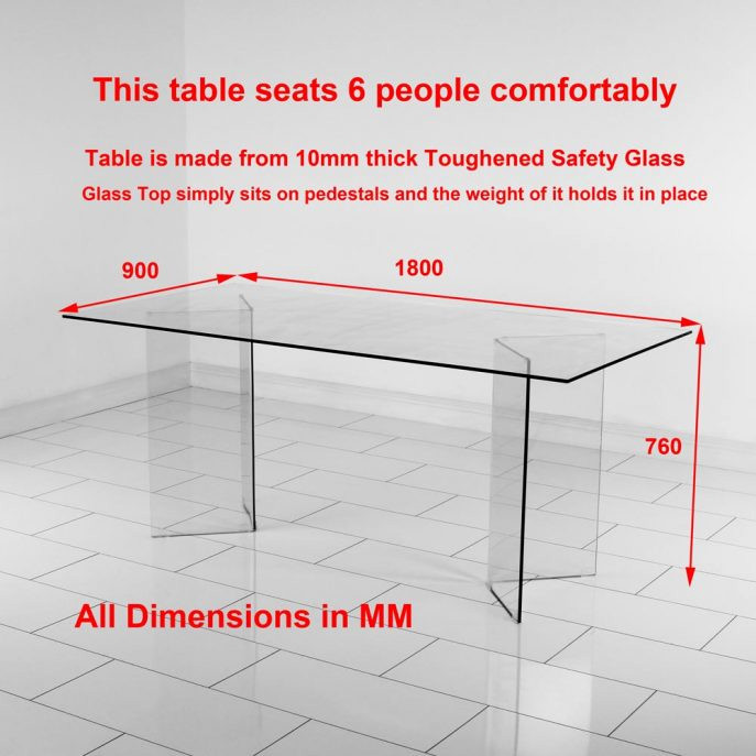 Ergonomic Dining Table Dimensions