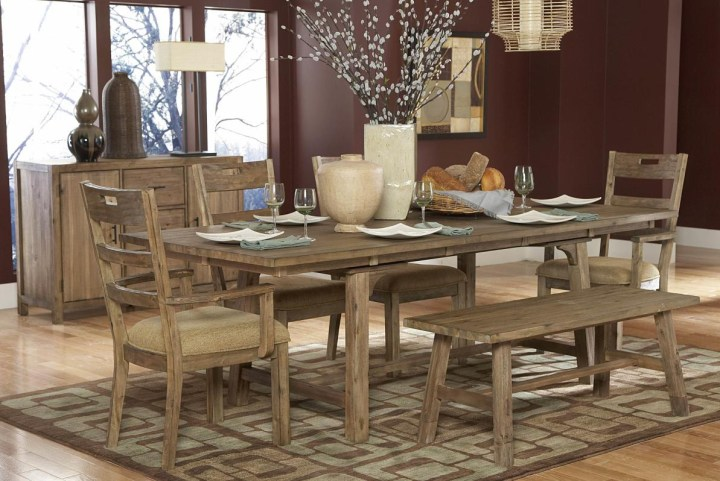 Rustic Barn Dining Room Table