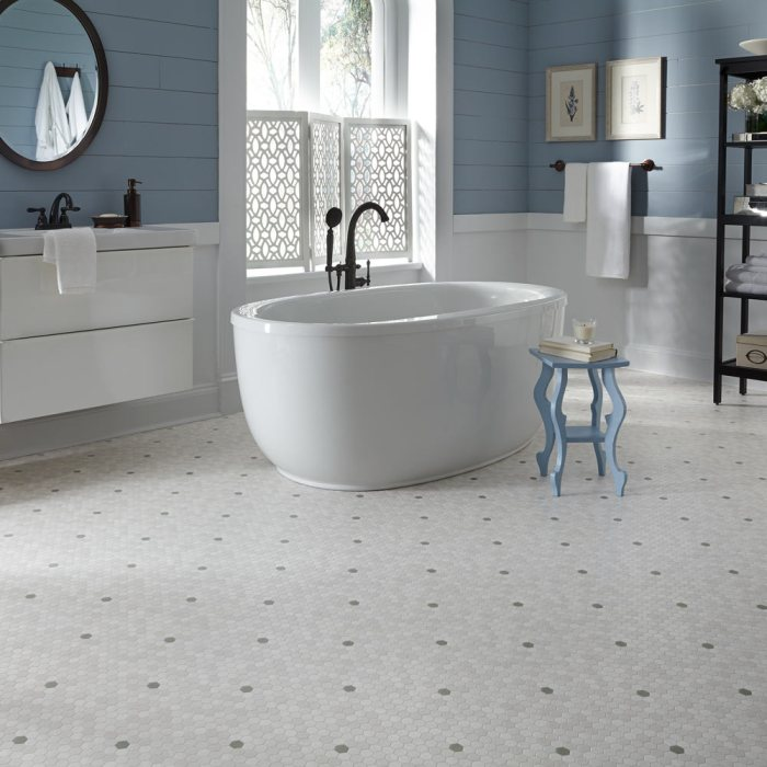 Diy Flooring Ideas For Bathroom