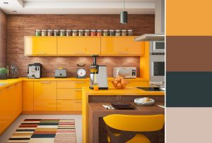 Painting Kitchen Ideas With Citrus Colors