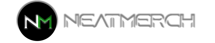 Neatmerch White Text Logo