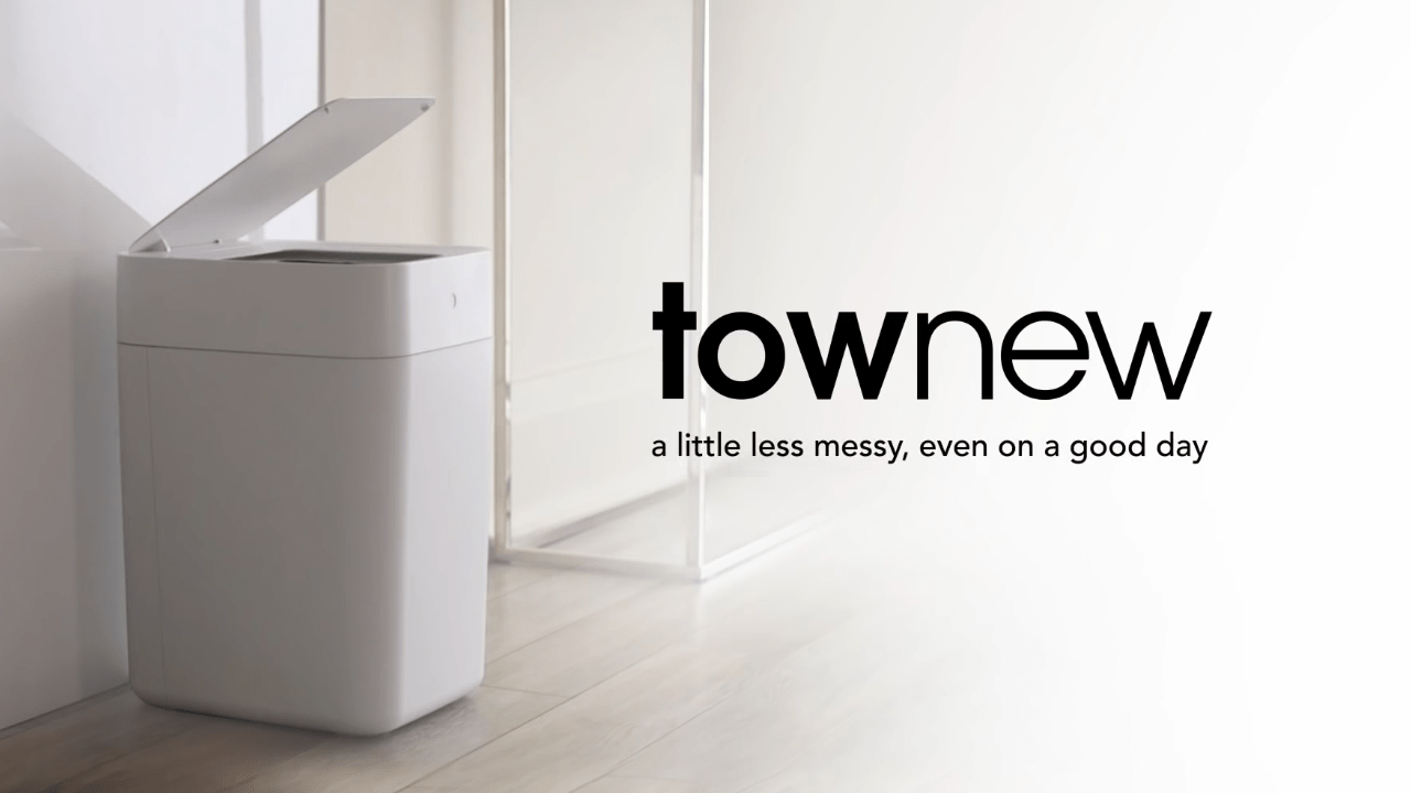 Townew: Self-Sealing and Self-Changing Trash Can