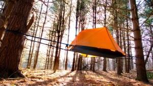 aerial tent