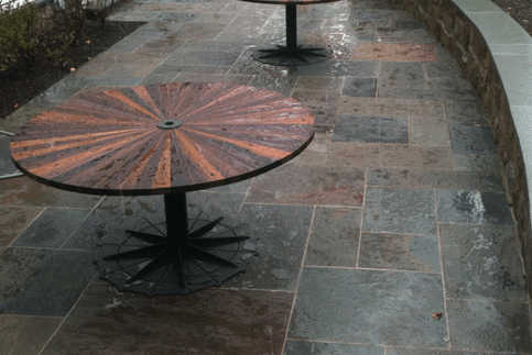 when installing pavers