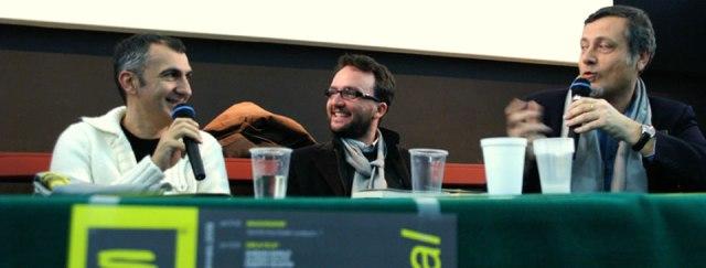 Francesco Abate, Paolo Roversi, Massimo Carlotto
