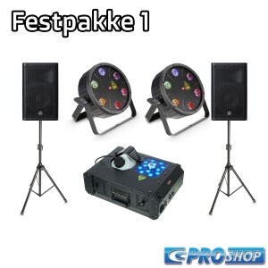 Festpakke 1   12″ top