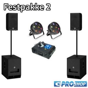 Festpakke 2   12″ top +15″ sub