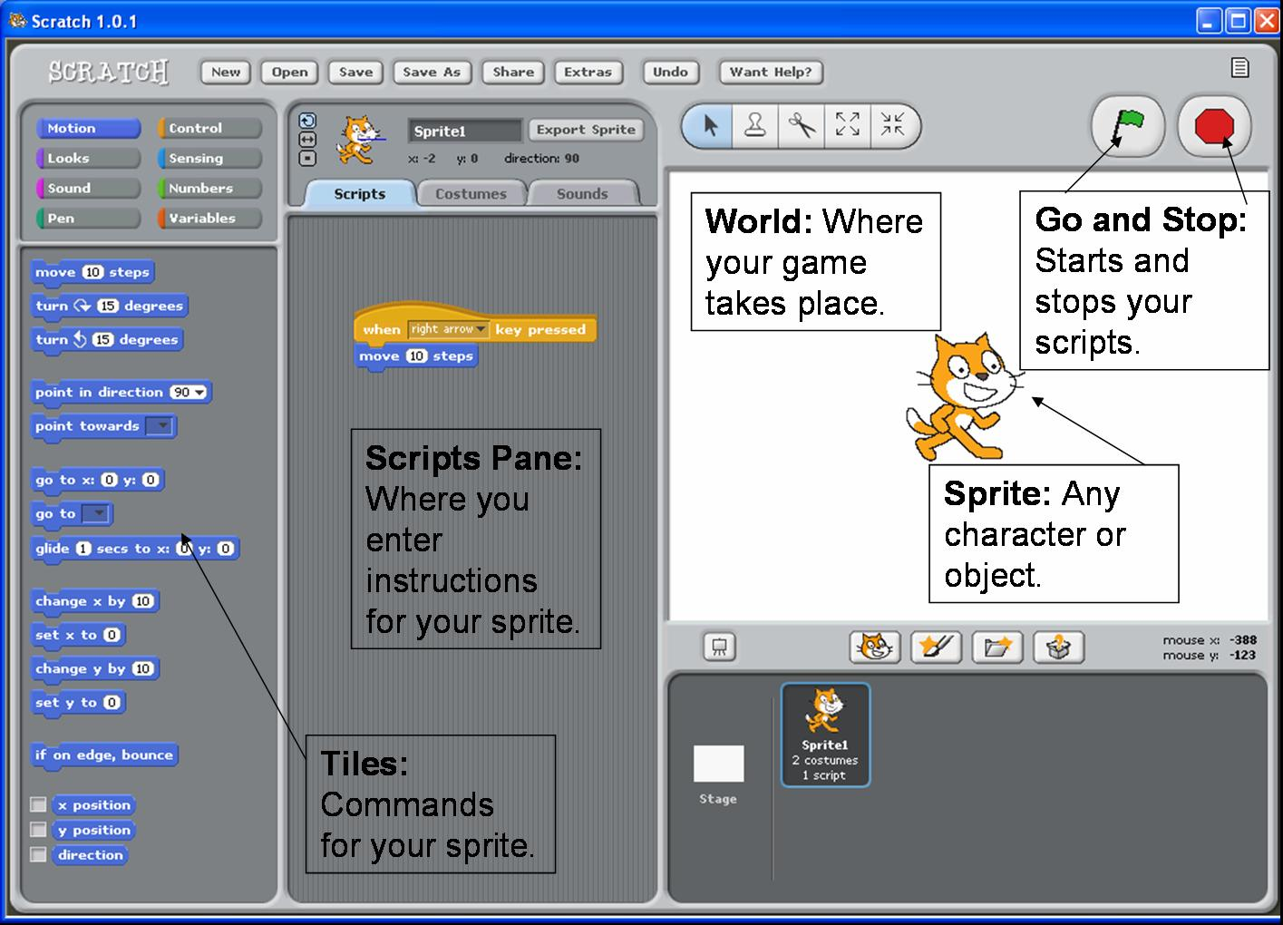 Scratch Lesson 2