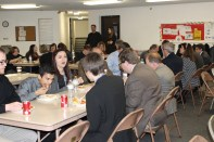 Youth shared lunch with senators and were able to give presentations in support of select bills.
