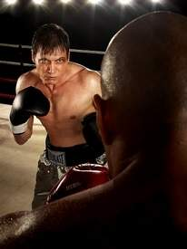 """Holt McCallany in the role of boxer Patrick """"Lights"""" Leary"""