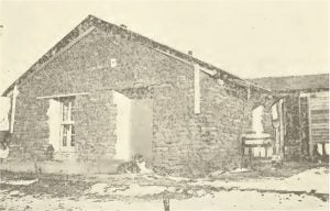 """The Old Downey Home, And the Last """"Soddy"""" in Fillmore County, Neb."""