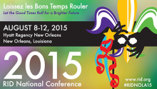 2015 RID National Conference