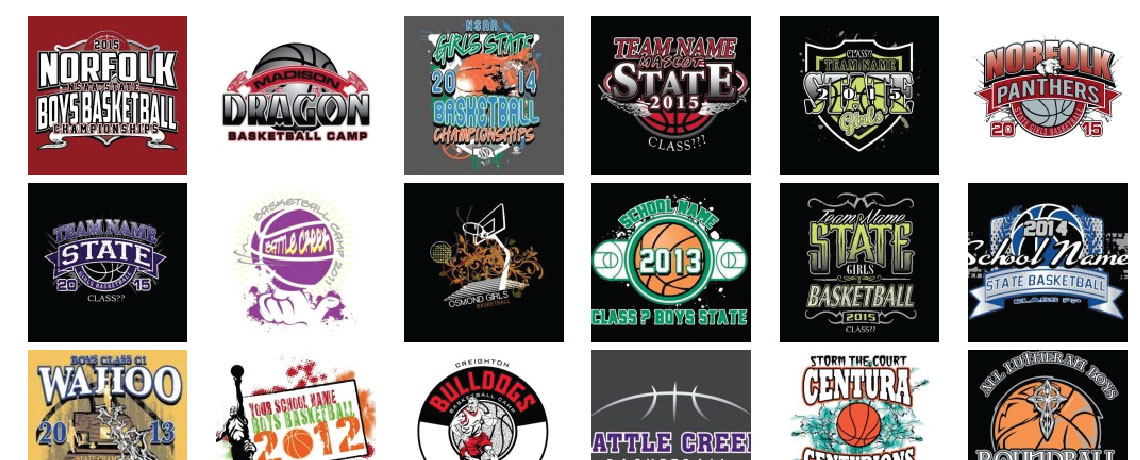 Basketball T Shirt Designs And Screenprinting Custom Sports