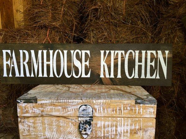 Farmhouse Kitchen Rustic Wood Sign Oconee Sign Shack