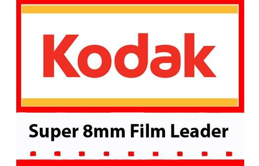 Kodak White Acetate Movie Leader - Super 8mm 50ft. | Film ...