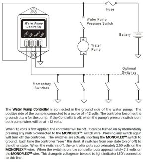 Intellitec Water Pump Controller, 10 Amp, Latching, 0000145100   pdxrvwholesale
