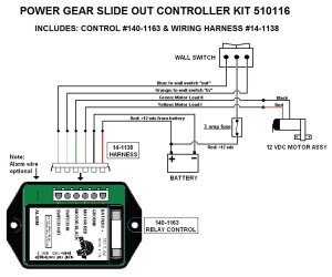 Power Gear Slide Out Controller Kit, Upgraded Version