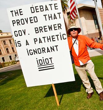 Bill Decries A (sic) Ignorant idiot (Jack Kurtz)