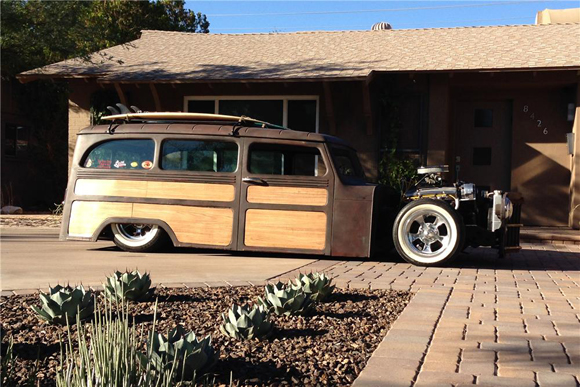 1961 WILLYS CUSTOM WOODY WAGON