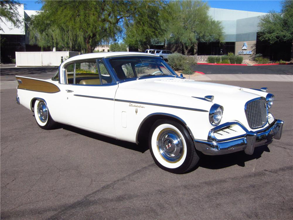 Lot 850.1 - 1957 Studebaker Golden Hawk