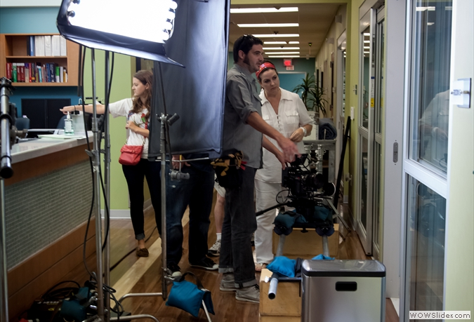 Behind the Scenes - Neighbors