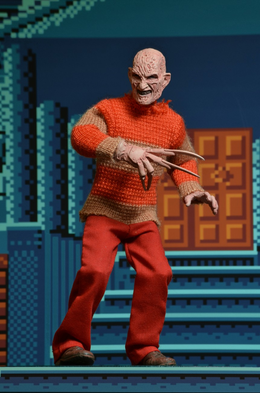 Toys R Us Exclusive Nightmare On Elm Street Clothed Video Game Freddy Figure