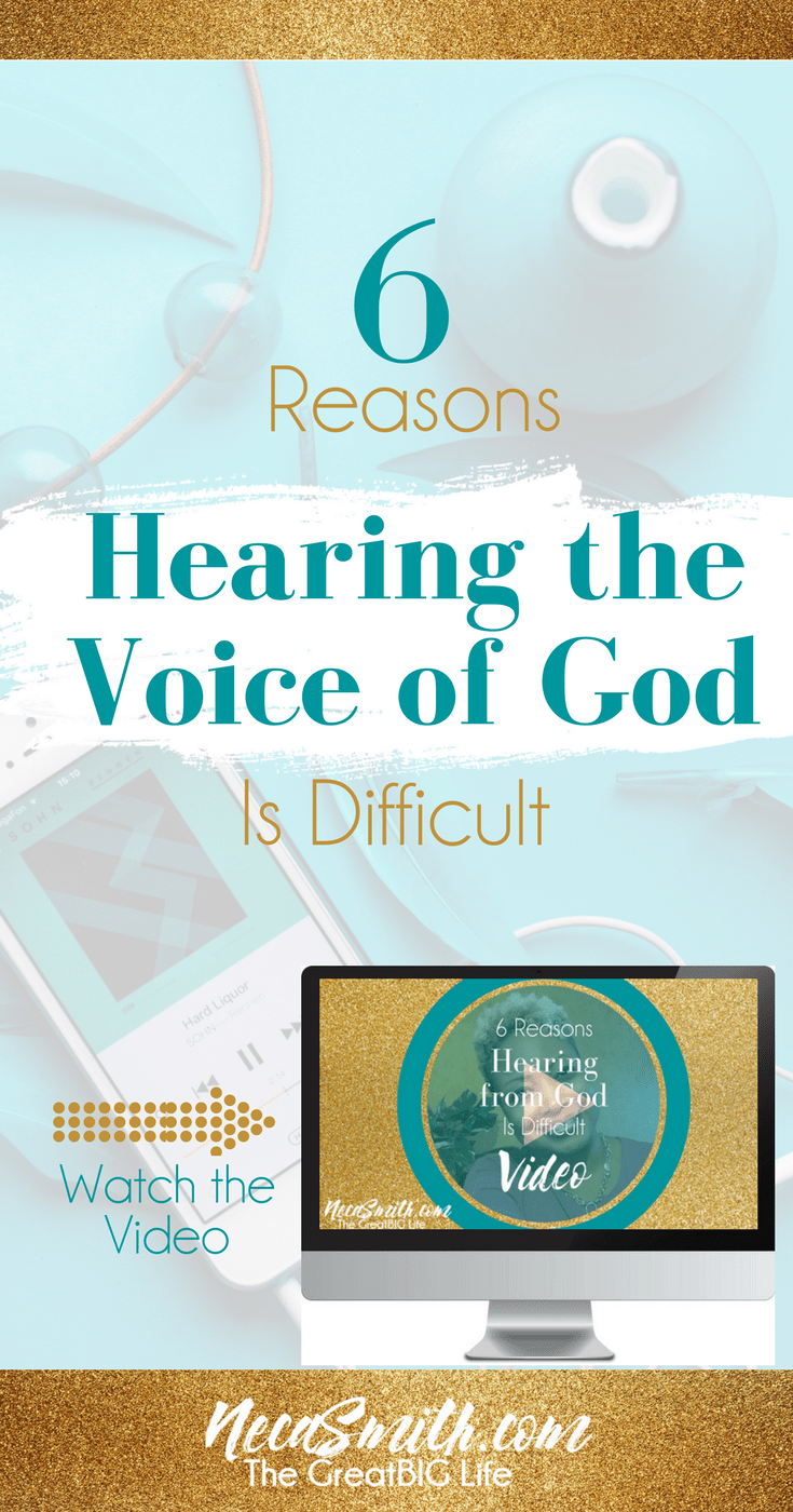 Watch and learn the 6 reasons why hearing the voice of God should be easier after a certain age.