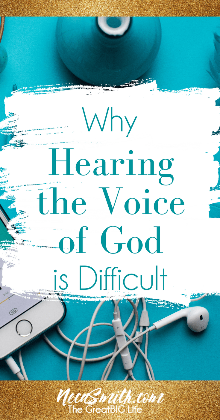 Watch the video to learn why hearing the voice God can be difficult after 40.