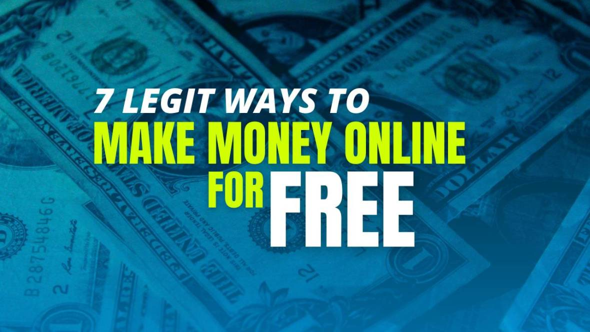 ways to make money online for free