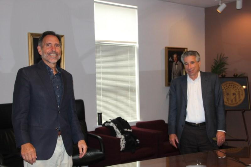 President Vince Maniaci & Larry
