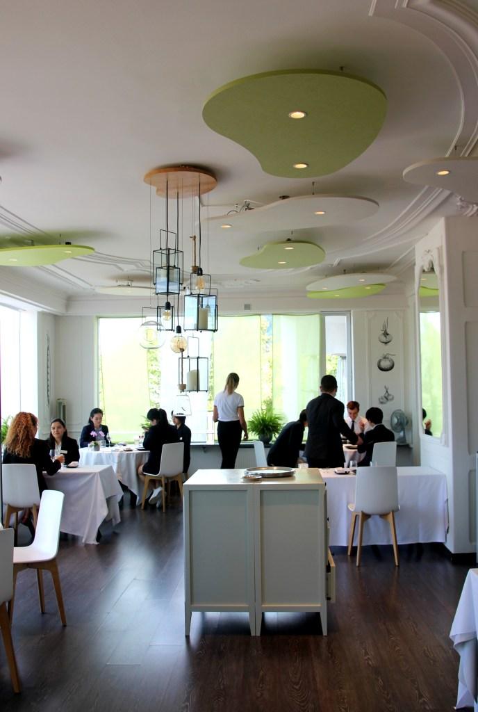 Fresh restaurant interior.