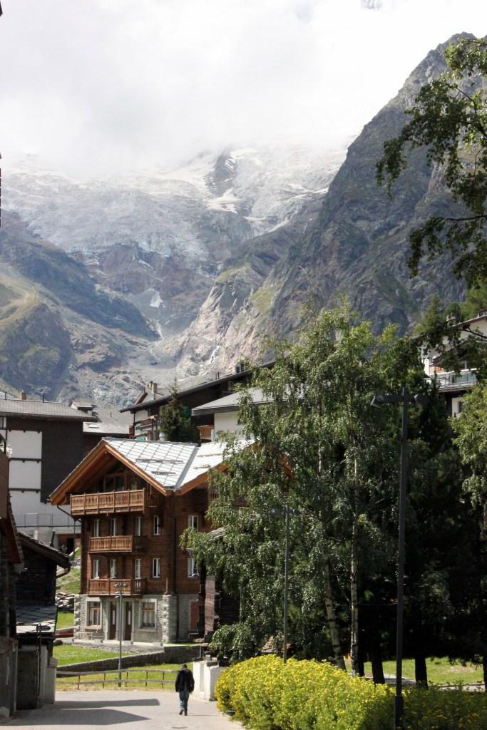 View of Saas-Fee