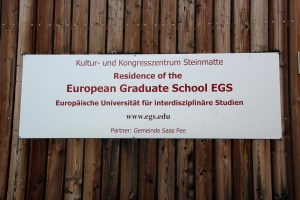 Sign of EGS