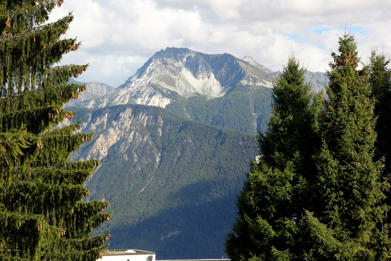 mountain view from Les Roches