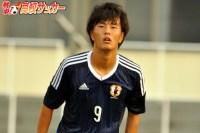 【U-19日本代表】本来の役割にゴールの兆し。悩めるエースストライカー・小川航基は覚醒できるか。