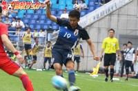 【U-19日本代表】プレミアWEST得点ランキング2位。サイドをかけ上がるゴールハンター・舩木翔の流儀。