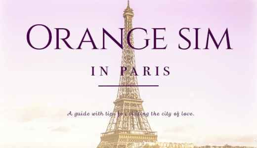 paris orange sim