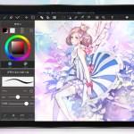 メディバンペイント 8.0アップデート | 水彩境界やiPadのためのマルチタッチジェスチャーなど新機能多数追加