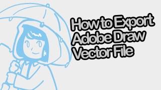 Adobe Illustrator Drawアプリからベクター形式のファイルをiPad内に出力する方法