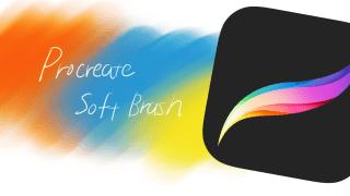 Procreateブラシ配布 | 厚塗りや柔らかい塗りに使えるソフトブラシ3種